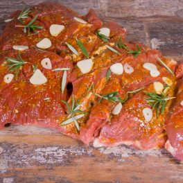 Lamb leg butterflied mint & rosemary