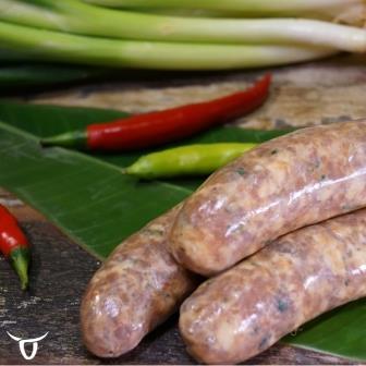 San Choy Bau Sausages