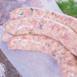 Traditional English Cumberland Sausages