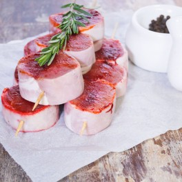 Pork & Plum Kebabs