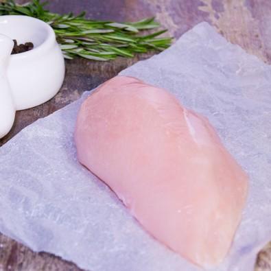 chicken breast skin off