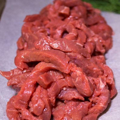 rump steak strips