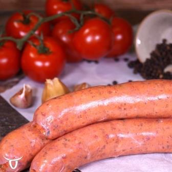 Beef, semidried tomato & basil Sausages