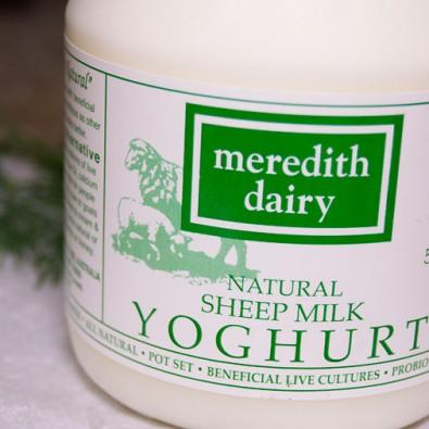 Meredith Dairy Sheep Yoghurt