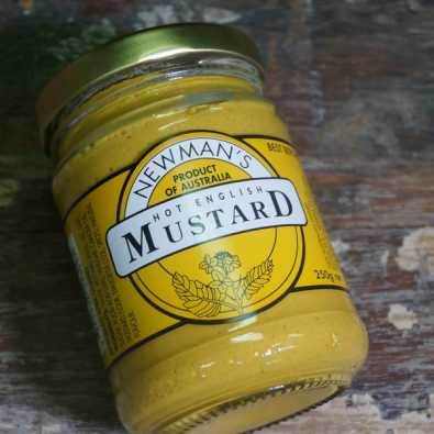 Newman's Hot English Mustard