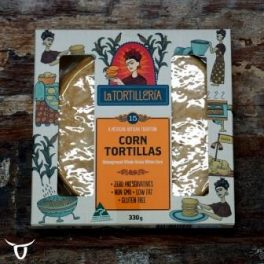 Soft corn tortillas