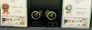 Award Winning Sausage trophies