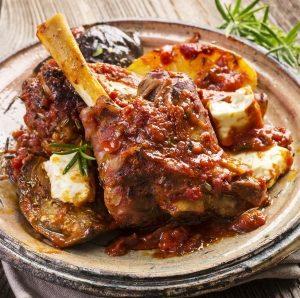 Lamb Shanks Tomato