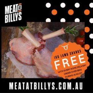 free lamb shanks