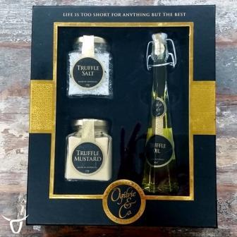 Black truffle gift pack