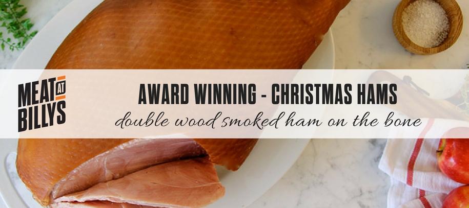 Award winning Christmas hams