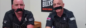 2 Bald Butchers Movember
