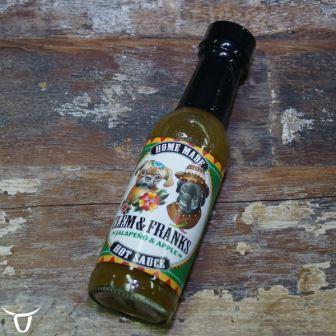 clem & franks jalapeno & apple hot sauce
