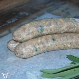 chicken, sage & pancetta sausages