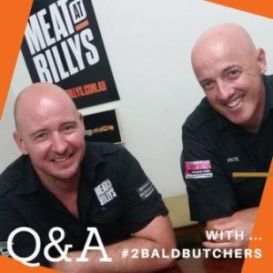 2 Bald Butchers Q&A