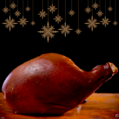 Christmas Ham Whole - featured image
