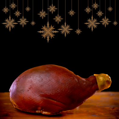 Pecan Fed Christmas Ham - featured image