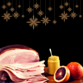 Sliced Christmas Ham