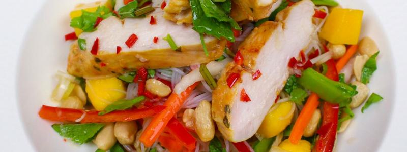 Mango Chilli Chicken Vietnamese Noodle Salad 1
