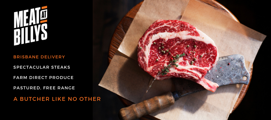 Steak Digital Billboard Homepage Slider