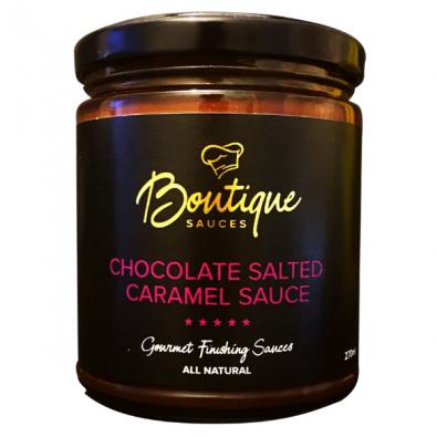 Chocolate Salted Caramel Sauce