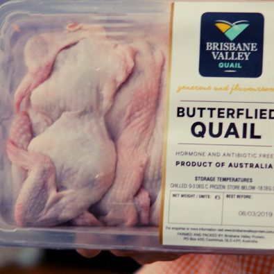 Butterflied Quail pack of 6