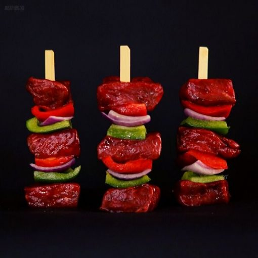 Beef & Vegetable Kebabs