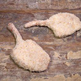 lamb cutlets crumbed