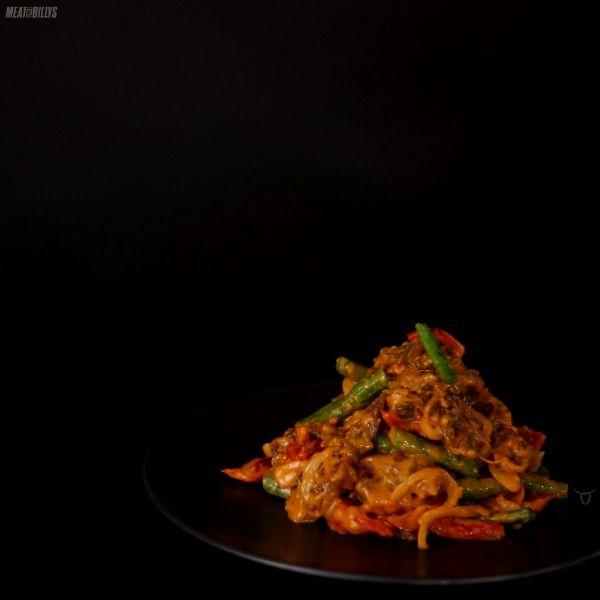 Peanut Satay Beef Stir