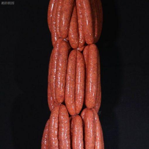 Smokey beef & maple sausage