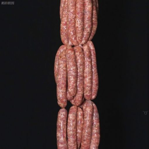 Toulouse pork sausages