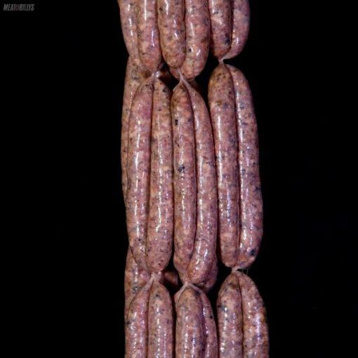 Truffled pork & porcini sausages