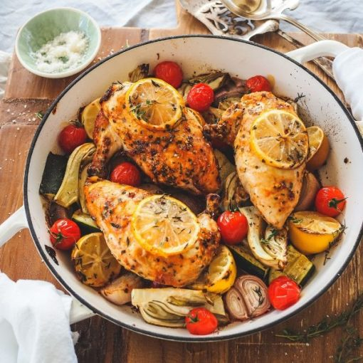 Additional Recipe Image of cooked Chicken Roasters 600x600