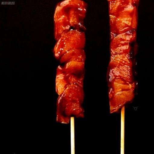 Chicken Kebabs - Honey Soy