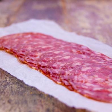 Fennel & garlic salami