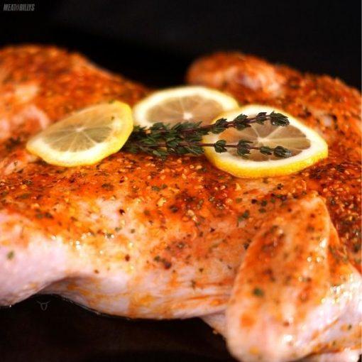 Chicken Butterflied Lemon Garlic