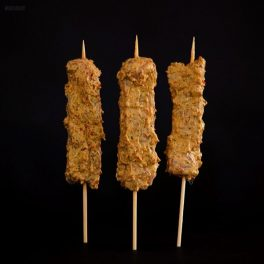 free range chicken kebabs lemongrass & coconut