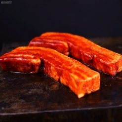 boneless pork belly spare ribs in hickory sauce 600X600 feature image