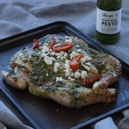 butterflied chicken basil pesto 600 x 600
