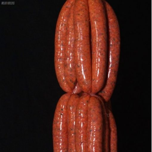 Beef, semi dried tomato & basil sausages
