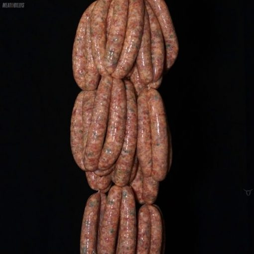 Canadian pork & maple sausages