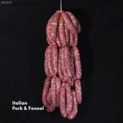 Italian pork & fennel sausages