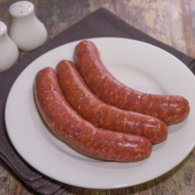 texan chilli beef sausages