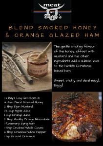 Blend Smoked Honey Glazed Ham Recipe