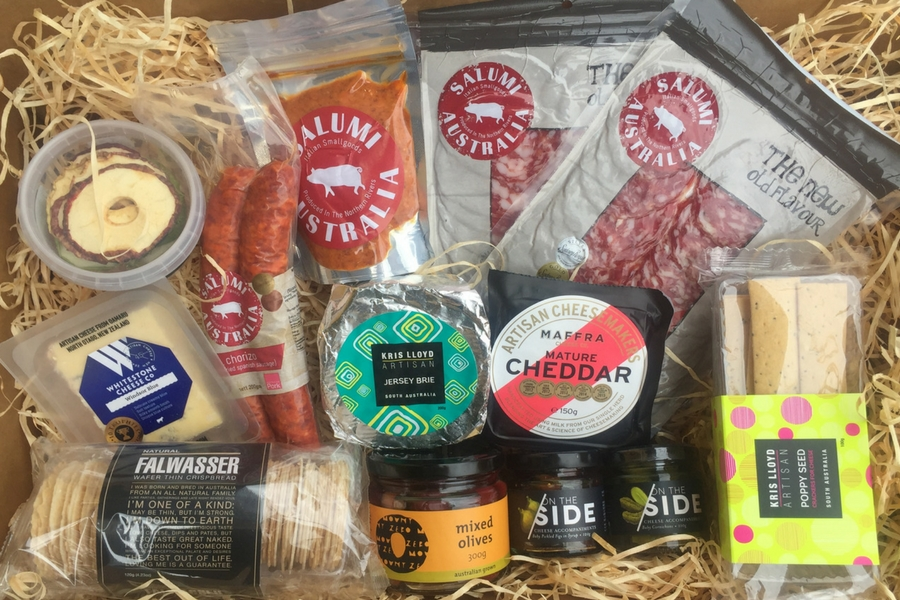 Cheese & Charcuterie Hampers Large