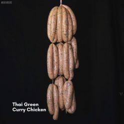 Thai Green Curry Chicken sausages