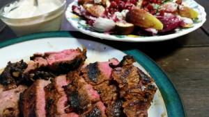 chermoula lamb cooked