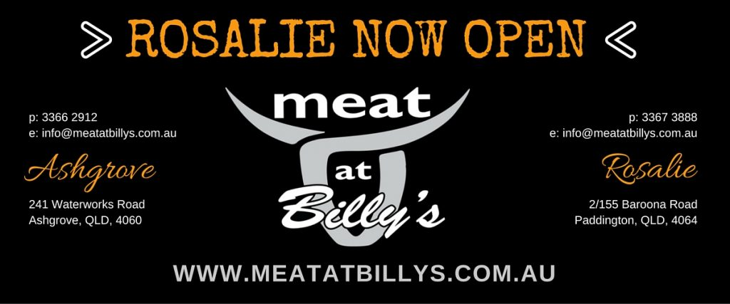 Meat at Billys Rosalie Now Open