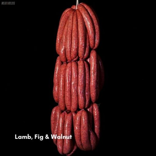 Lamb, Fig & Walnut Sausage 600x600 feature image