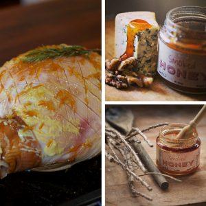 Blend Ham Glaze ingredients